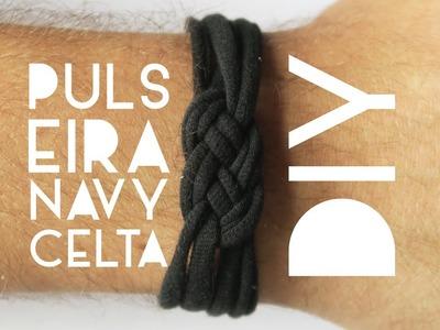 Como fazer uma camiseta virar pulseira  | DIY | DANIEL MOONEY