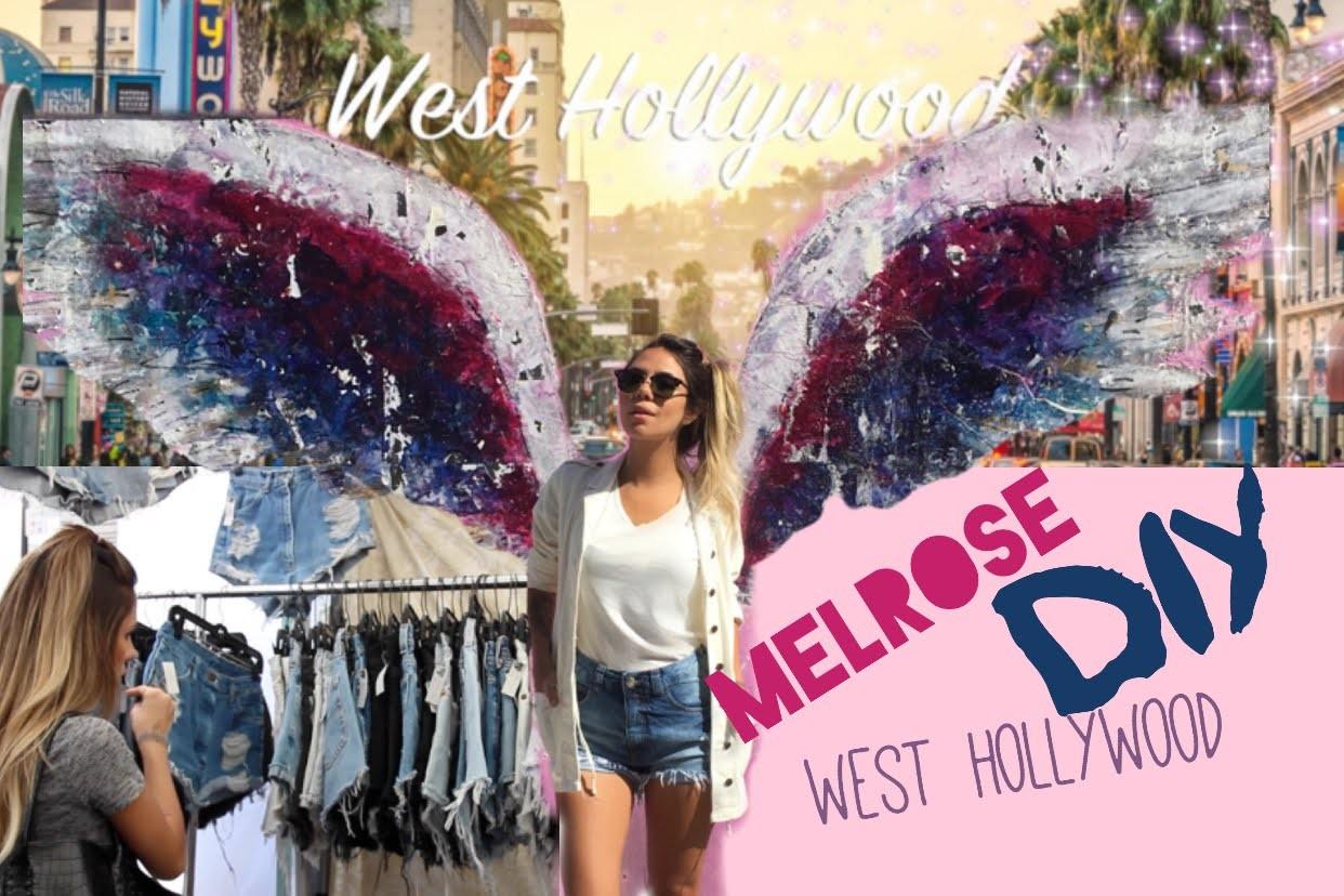Customização de short e West Hollywood - NEVER ALONE Califórnia 2