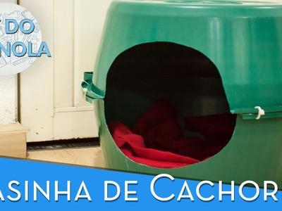 DIY do Granola: Como fazer uma casinha de cachorro