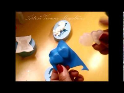 Aprenda a Fazer modelador de EVA caseiro usando cola de silicone