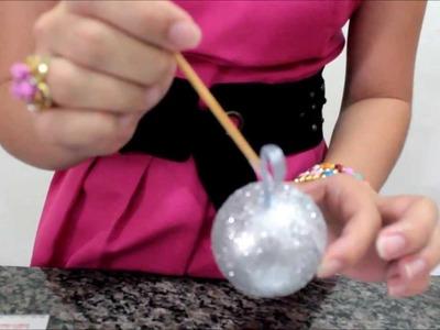 Brincando de Fazer Arte: Bolas de Natal - Especial Natal-