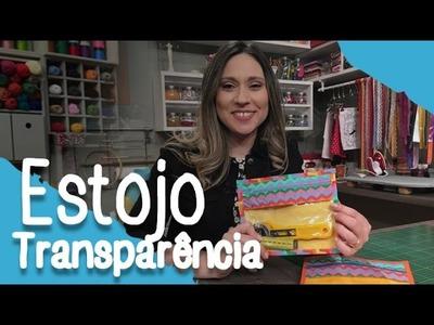 Como fazer um estojo com transparência - 19.10.16