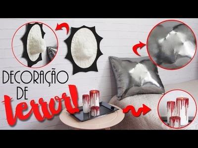 DIY: Decoração de quarto de TERROR! - muito FÁCIL! | ft.Thais Wandrofski