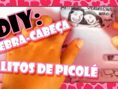 DIY: Quebra-Cabeça com Palitos de Picolé - #PresentesParaNamorado