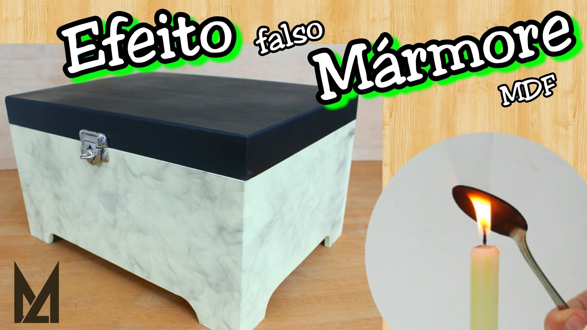Falso Mármore - Pintura para MDF cru