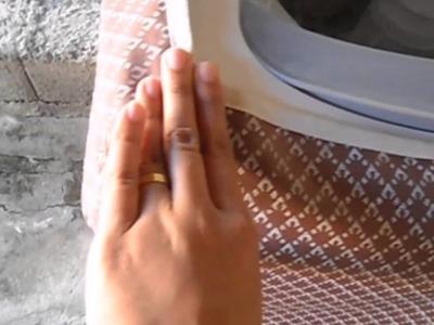 (PARTE 2) Passo a passo da capa para máquina de lavar roupa(explicação).