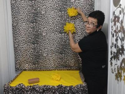 Aula 68 - Como fazer uma toalha linda e fácil para festa em TNT