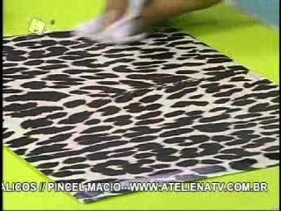 Caixa com Floc Fácil - Artesã Marisa Magalhães