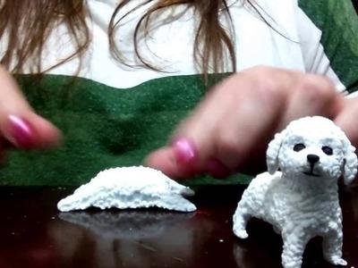Como fazer Poodle (realista) de Biscuit de forma fácil