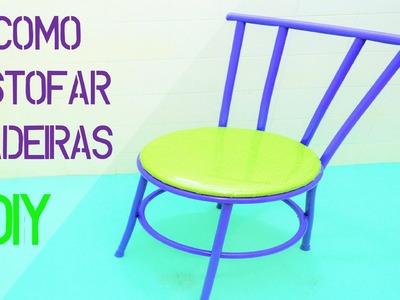 Como Reformar Cadeiras (grampeador de tapeceiro)