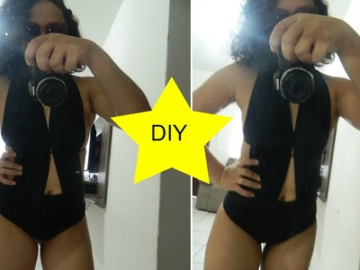 DIY. TRANSFORME LEGGING EM MAIÔ.BODY | Catiane Azevedo
