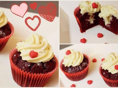 Red Velvet Cupcake - Dia dos Namorados