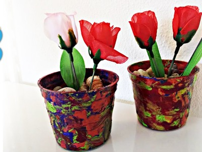 Técnica para Pintar Vasos com Esmalte