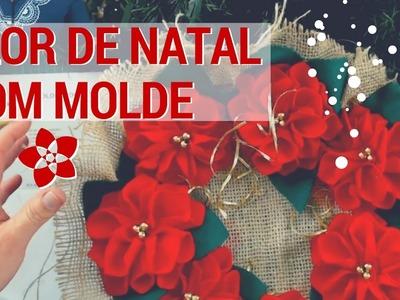 Ao Vivo: Flores Para Decorar Seu Natal Com Molde- Drica TV