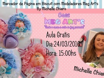 Marca Página modeladores Meg Arts- By Michelle Chiaro