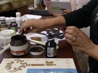 Mulher.com - 02.09.2016 - Arte em madeira - Camila Claro de Carvalho PT2