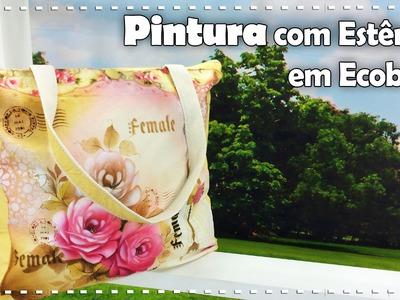 PINTURA EM ECOBAG com Rose Ferreira - Programa Arte Brasil - 27.09.2016