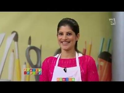 Capa de Caderno Seminole Ateliê na TV   TV Gazeta   11 05 15   Camila Martins
