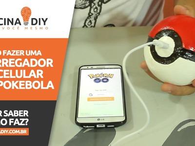 Carregador de Celular de Pokébola - Pokémon Go | Oficina DIY #40