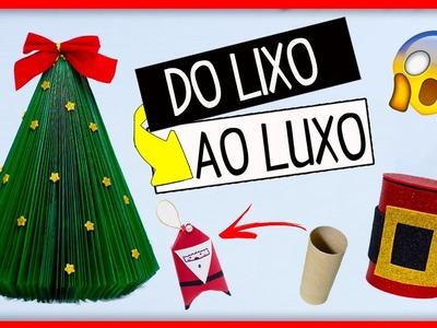 DIY Especial Natal #1- FAÇA SUA DECORAÇÃO EM CASA SEM GASTAR NADA