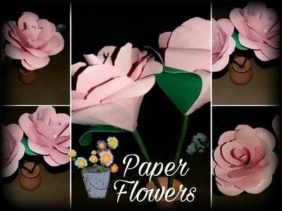 DIY! Flores de papel   F: PaperFlowers ♡