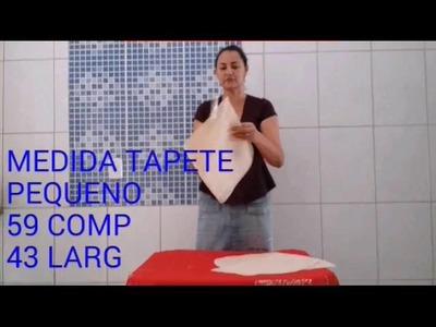 DIY::PASSO Á PASSO. JOGO DE BANHEIRO EM TALAGARÇA. LINDO E FACIL DE FAZER.