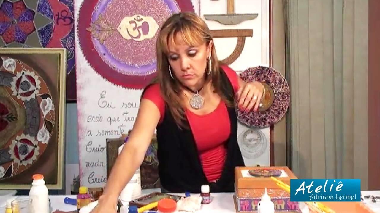 ADRIANA LEONEL - PINTURA EM MADEIRA  - PARTE 2 DE 2