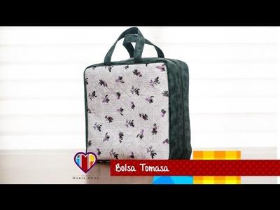Bolsa mala de tecido Tomasa - Maria Adna Ateliê - Cursos, aulas e vendas de bolsas de tecido