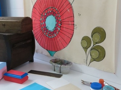 Dicas do Ateliê: Pintura de Fundos de Madeira e MDF