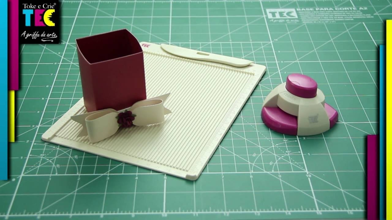 Mini Base para Vinco 180 x 140 mm (Scoring Board) - Toke e Crie