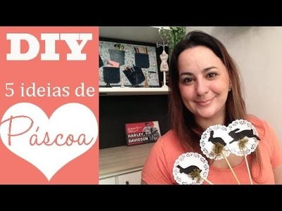 DIY: ARRUMANDO A CASA PARA A PÁSCOA, 5 ideias por Camila Camargo