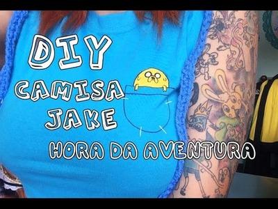 DIY : Camisa Jake Hora da Aventura ♥ Faça você mesmo ♥