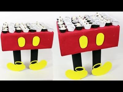 DIY FESTA DO MICKEY - COMO FAZER BANDEJA PARA DOCES - FAÇA SUA FESTA | POR CAROL GOMES