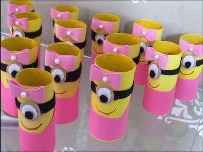 DIY Festa Minions Para meninas (amarelo e rosa)- Preparativos  P3 #LetíciaFaz2