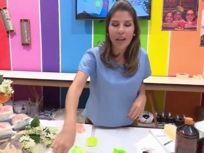 DIY Lembrancinha sabonete peixinho (Quadro Faça Você Mesmo - Mulher.com)