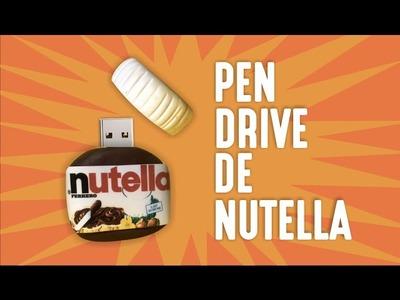 Faça um Pen Drive de Nutella | DIY