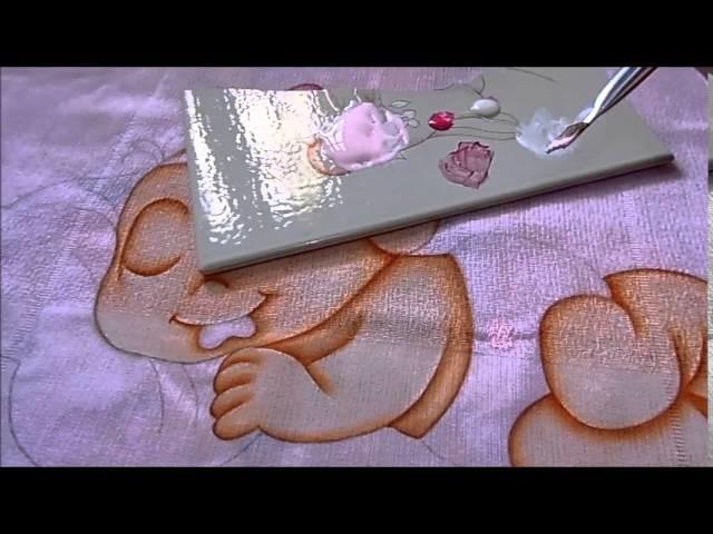 Dicas para iniciar a pintura em fraldas - Eliana Rolim
