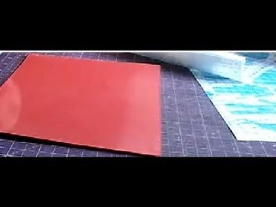 Impermeabilização de papel com contact - Aula parte única
