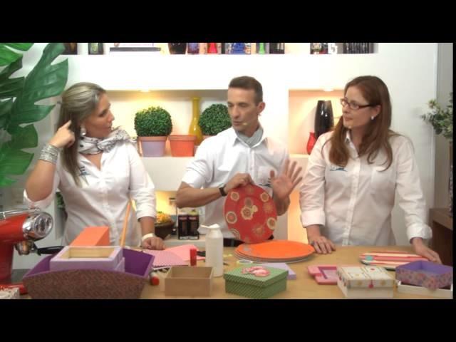 Café com Arte - Trabalhos criativos com tecidos  - Episódio 14
