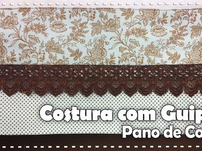 COSTURA PANO DE COPA COM GUIPIR com Vanessa Fernandes - Programa Arte Brasil - 11.08.2016