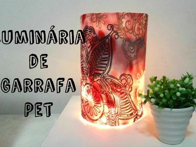 DIY - Luminária de Garrafa Pet - Simples e fácil de fazer