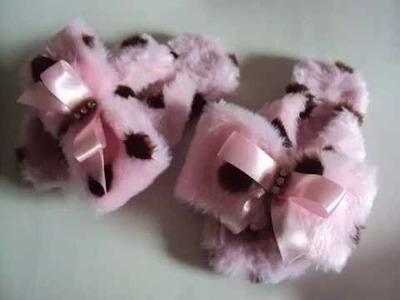 Havaianas de inverno como fazer chinelos pantufas PAP sem costura