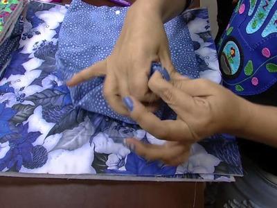Mulher.com - 21.09.2015 - Bolsa em costura criativa - Lia Pavan PT1