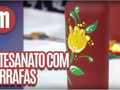 Artesanato com Garrafas - Mulheres (08.09.16)