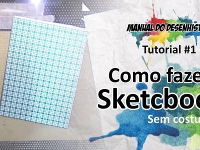 Como fazer Sketchbook (sem costura)