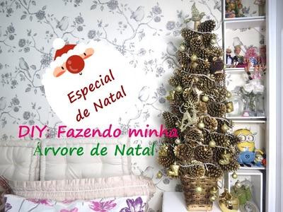 DIY: Fazendo Minha Árvore de Natal (Merry Christmas)