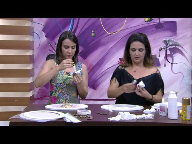 Mulher.com - 08.10.2015 - Quadro para porta de maternidade - Marisa Magalhães PT2