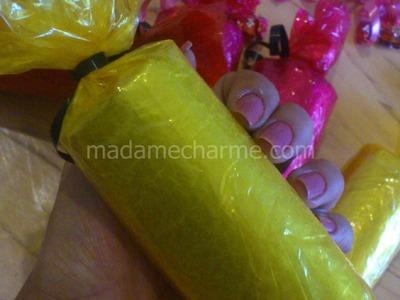 Porta balas para festa infantil - lembrancinha de rolo de papel higiênico