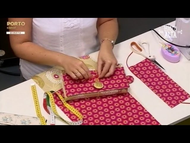 Costurar uma Capa para Livro - Costura com Riera Alta