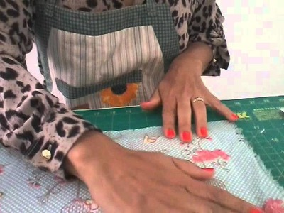 DIY Como fazer capa para bloco